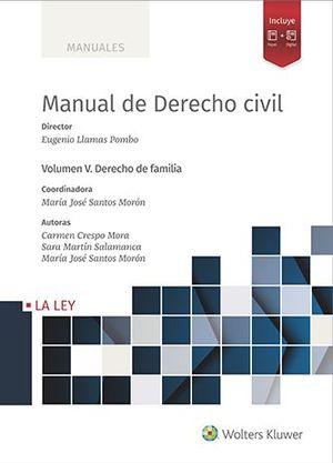 MANUAL DE DERECHO CIVIL. VOL. V