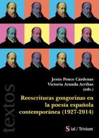 REESCRITURAS GONGORINAS EN LA POESÍA ESPAÑOLA CONTEMPORANEA