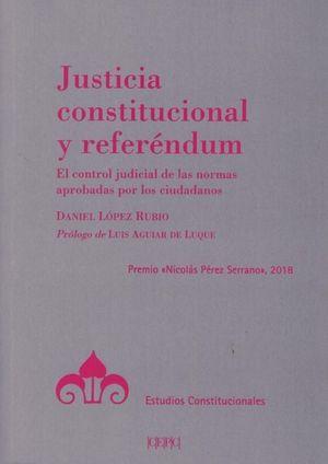 JUSTICIA CONSTITUCIONAL Y REFERENDUM