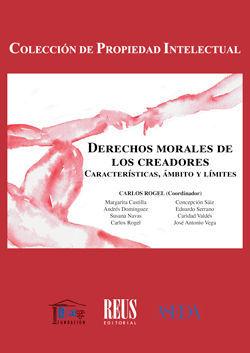 DERECHOS MORALES DE LOS CREADORES