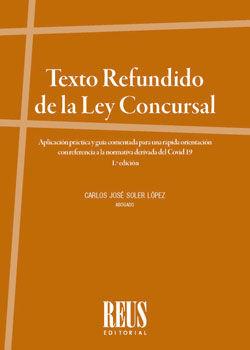 TEXTO REFUNDIDO DE LA LEY CONSURSAL