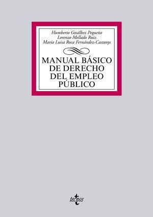 MANUAL BÁSICO DE DERECHO DEL EMPLEO PÚBLICO