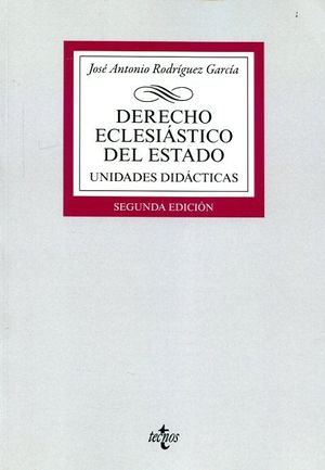 DERECHO ECLESIASTICO DEL ESTADO