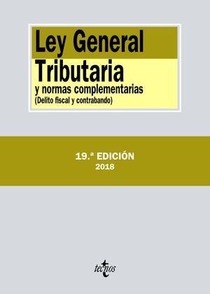 LEY GENERAL TRIBUTARIA Y NORMAS COMPLEMENTARIAS