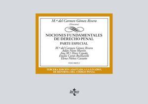 NOCIONES FUNDAMENTALES DE DERECHO PENAL. VOLUMEN I