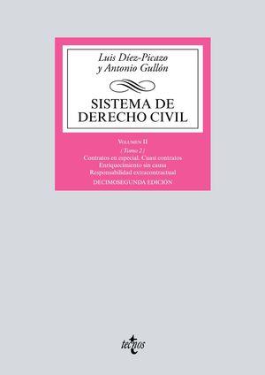 SISTEMA DE DERECHO CIVIL. VOLUMEN II. TOMO 2