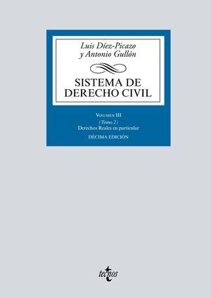 SISTEMA DE DERECHO CIVIL. VOLUMEN III. TOMO 2