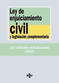 LEY DE ENJUICIAMIENTO CIVIL Y LEG. COMPLEMENTARIA