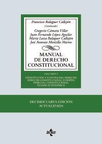 MANUAL DE DERECHO CONSTITUCIONAL, I (14ª-2019)