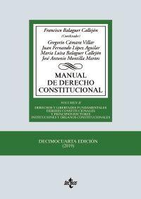 MANUAL DE DERECHO CONSTITUCIONAL, II (14ª-2019)