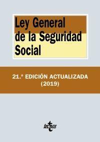 LEY GENERAL DE LA SEGURIDAD SOCIAL (21ª 2019)