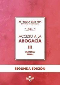 ACCESO A LA ABOGACÍA, III