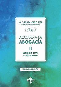 ACCESO A LA ABOGACIA, II