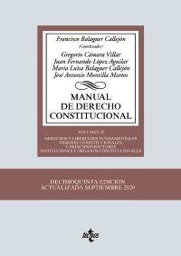 MANUAL DE DERECHO CONSTITUCIONAL, VOL. II