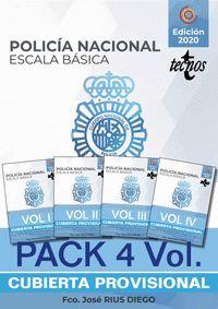 PACK TEMARIO OPOSICION ESCALA BASICA POLICIA NACIONAL