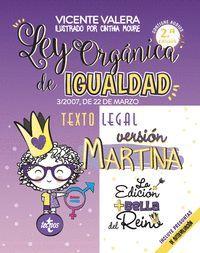 LEY ORGANICA DE IGUALDAD. VERSION MARTINA