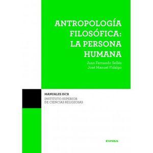 ANTROPOLOGIA FILOSOFICA PERSONA HUMANA