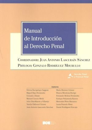 MANUAL DE INTRODUCCION AL DERECHO PENAL