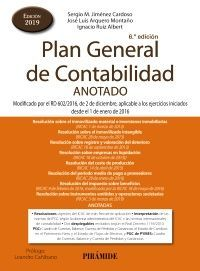 PLAN GENERAL DE CONTABILIDAD. ANOTADO