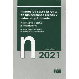 IMPUESTOS SOBRE LA RENTA DE LAS PERSONAS FISICAS Y SOBRE EL PATRIMONIO 2021.