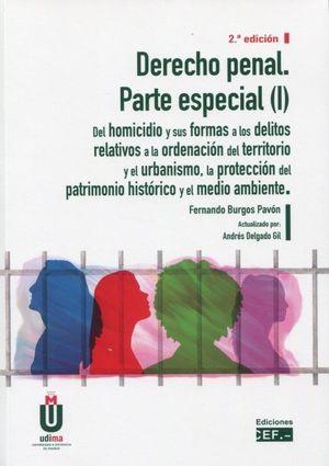 DERECHO PENAL PARTE ESPECIAL PARTE 1