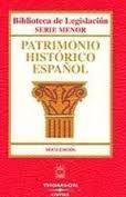 PATRIMONIO HISTORICO ESPAÑOL