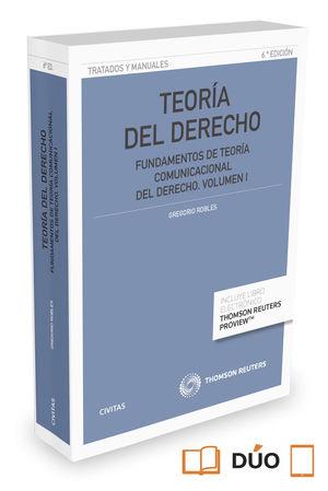 TEORÍA DEL DERECHO. VOLUMEN I