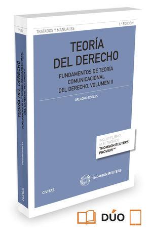 TEORÍA DEL DERECHO. VOLUMEN II