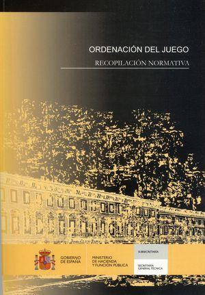 ORDENACIÓN DEL JUEGO RECOPILACIÓN NORMATIVA