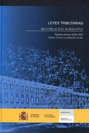 LEYES TRIBUTARIAS. RECOPILACION NORMATIVA 2020