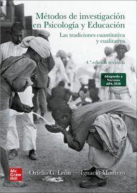 METODOS DE INVESTIGACION PSICOLOGIA Y EDUCACION