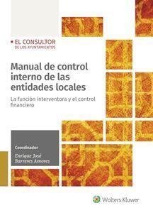 MANUAL DE CONTROL INTERNO DE LAS ENTIDADES LOCALES