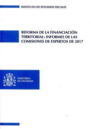 REFORMA DE LA FINANCIACIÓN TERRITORIAL