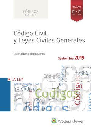 CODIGO CIVIL Y LEYES CIVILES GENERALES 2019