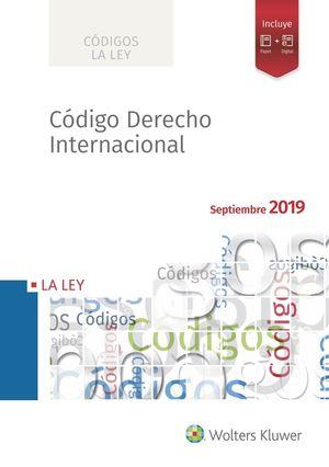 CODIGO DERECHO INTERNACIONAL 2019