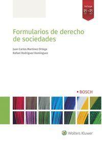 FORMULARIOS DE SOCIEDADES MERCANTILES