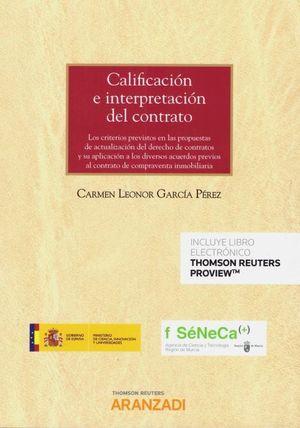 CALIFICACIÓN E INTERPRETACIÓN DEL CONTRATO (DÚO)