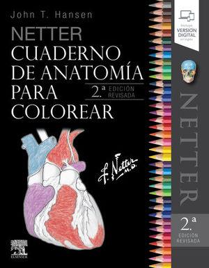 NETTER CUADERNO DE ANATOMÍA PARA COLOREAR (2ª ED.)