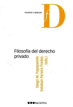 FILOSOFIA DEL DERECHO PRIVADO
