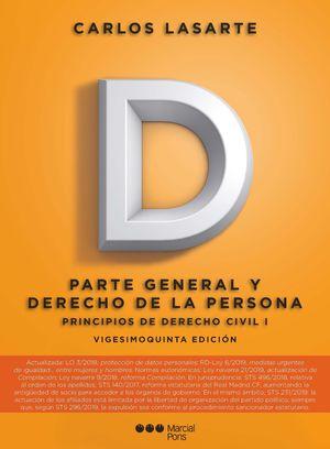 PRINCIPIOS DE DERECHO CIVIL, I