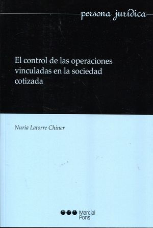 EL CONTROL DE LAS OPERACIONES VINCULADAS EN LA  SOCIEDAD COTIZADA