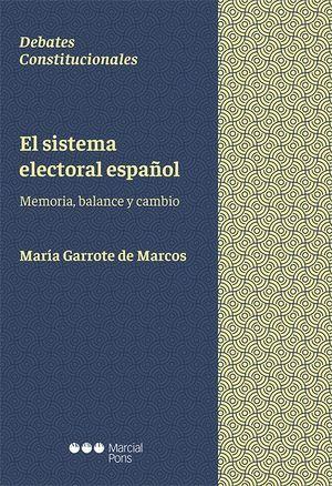 EL SISTEMA ELECTORAL ESPAÑOL.