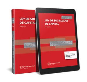 LEY DE SOCIEDADES DE CAPITAL (PAPEL + E-BOOK)