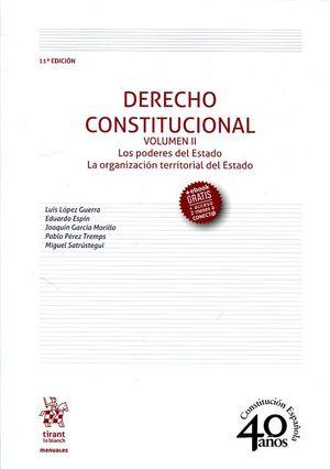 DERECHO CONSTITUCIONAL. VOL. II