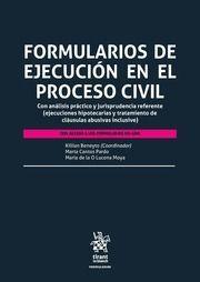FORMULARIOS DE EJECUCIÒN EN EL PROCESO CIVIL