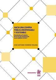 HACIA UNA COMPRA PUBLICA RESPONSABLE Y SOSTENIBLE