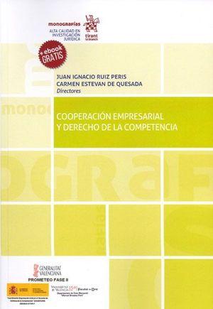 COOPERACION EMPRESARIAL Y DERECHO DE LA COMPETENCIA