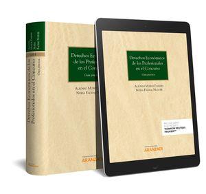 DERECHOS ECONÓMICOS DE LOS PROFESIONALES EN EL CONCURSO (PAPEL + E-BOOK)