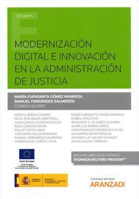 MODERNIZACIÓN DIGITAL E INNOVACIÓN DE LA ADMINISTRACIÓN DE JUSTICIA