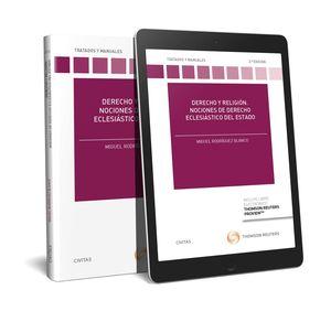 DERECHO Y RELIGIÓN. NOCIONES DE DERECHO ECLESIÁSTICO DEL ESTADO (PAPEL + E-BOOK)